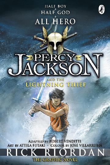 Percy Jackson & The Lightning Thief (Graphic Novel)